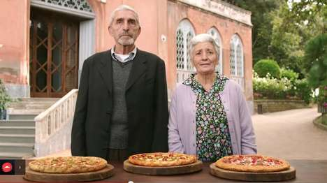 Elderly Pizza Marketing