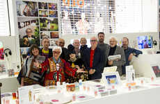 Senior Artist Campaigns - Selfridges' Bright Old Things Highlights Artists Over the Age of 40
