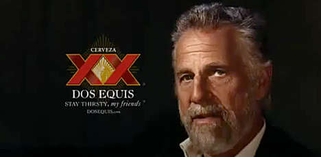 Suave Senior Beer Ads - This Dos Equis Beer Ad Honors 'the Most Interesting Man in the World'