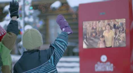 Snow-Sharing Machines - Coca-Cola Helps People Across the World Share Christmas with a Snow Machine