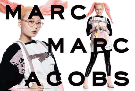 Social Media-Cast Ads - This Marc Jacobs Campaign Cast Its Models Using Instagram and a Hashtag