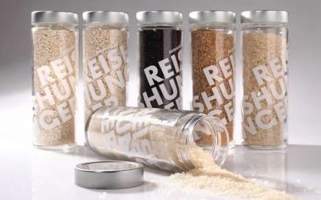 Tubed Rice Containers