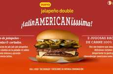 Hispanic Fast Food Campaigns - The McDonald's Jalapeno Double Ad Understands the Target Market