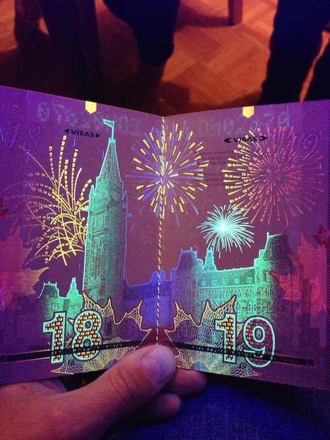 Dynamic UV Passports