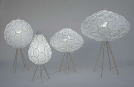 Delicate Origami Illuminators