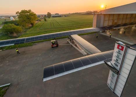 Solar-Powered Planes