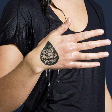 Charitable Temporary Tattoos