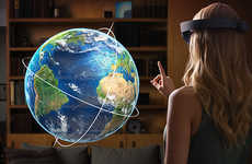 Innovative Hologram Glasses - HoloLens Lets You Interact with the Virtual World in Physical Space