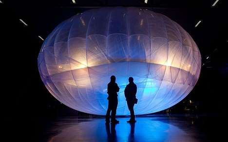 Satellite Internet Services - Google's Project Loon Will Bring More People Online