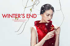 Whimsically Wintry Editorials