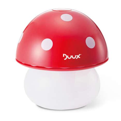 Whimsical Mushroom Humidifiers