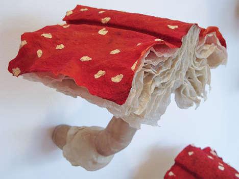 Mushroom Book Installations