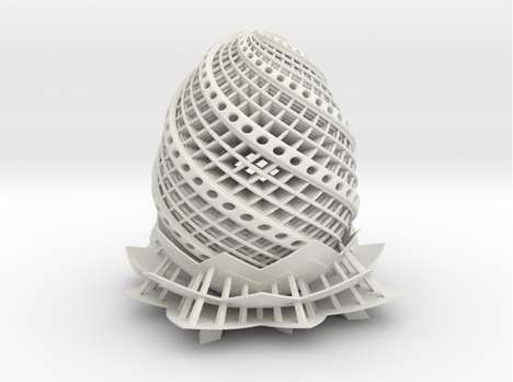3D-Printed Easter Lamps