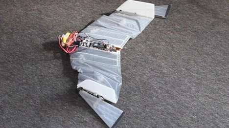 Vampire Bat Drones - The DALER Prototype Drone Can Scope Out Inaccessible Areas