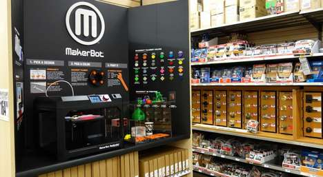 3D-Printed Hardware - This Partnership Shows Off Makerbot 3D-Printed Home Depot Tools & Hardware
