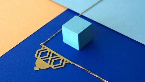 Geometric Art Deco Jewelry