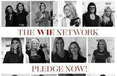 Female-Empowering Platforms - WIE Network Features Insights & Inspiration from World-Changing Women