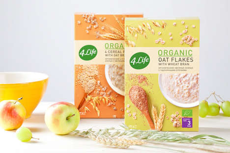 Organic Oatmeal Packaging
