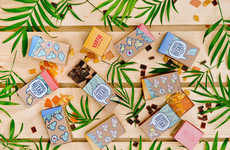 Boxy Snack Packaging - Exotic Edibles for Kids Are Contained Within Bird-Themed, Beveled-Lid Cartons