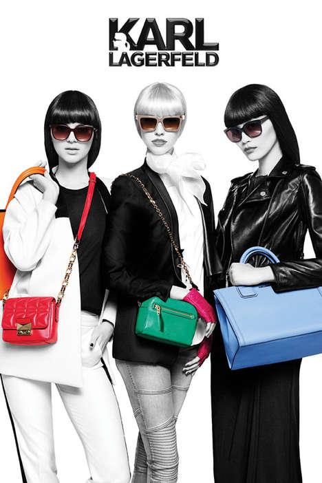 Color Splash Fashion Ads