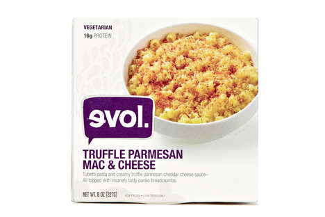 Frozen Truffle Pastas - Evol's Frozen Pasta Dinner Turns Mac & Cheese Gourmet