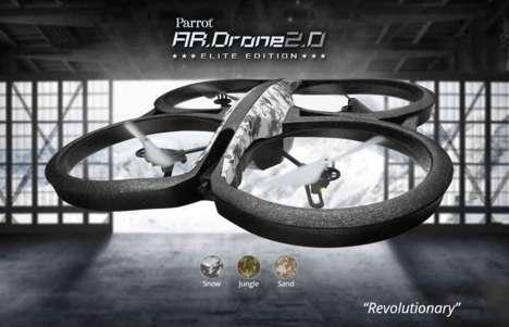 Sleek Helicopter Drones