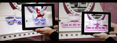 Hi-Tech Cartoon Toys - Disney Dream Play Uses Augmented Reality to Bring Figurines to Life