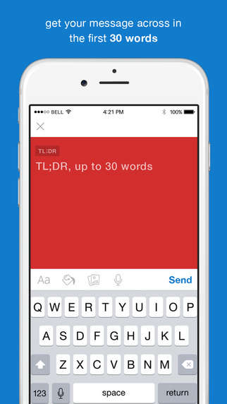 Concise Email Apps - The TL;DR Email App Ensures Messages Are Short and Sweet