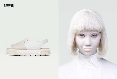 Ghostly Footwear Marketing