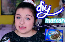 Cookie-Based Mascaras - This DIY Mascara is Made from the Crumbs of Oreos