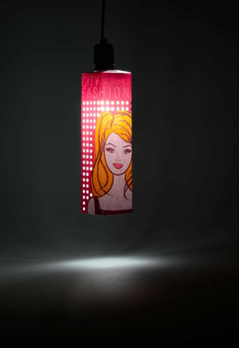 Illuminating Doll Boxes - This Toy Box Packaging for a Doll Doubles as a Lamp