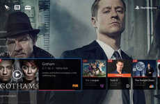 Gamer Streaming Services - Sony's PlayStation Vue Curates Live and On-Demand Programming