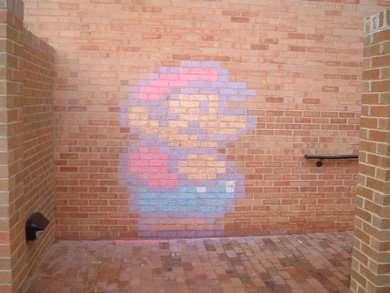 Pixelated Graffiti
