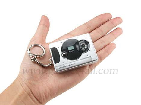 Keyring Webcams - The Multitasking Mini Digital Camera