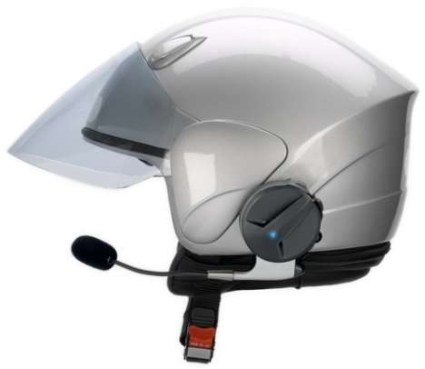 Motorcycle Helmet Bluetooth Kits - The Parrot SK-4000