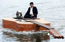 Instrument-Inspired Watercraft