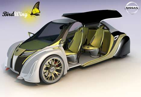 Butterfly-Inspired Cars