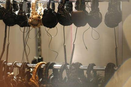Earphones Made of Braided Hair