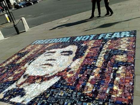 Surveillance Protest Art