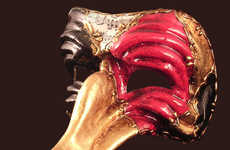 Viennese Costume Ball Revival - Cirque D' Soleil Masks Bring Class to Halloween