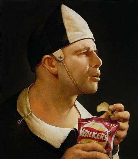 Juxtaposing Modern Culture With 17th Century Art