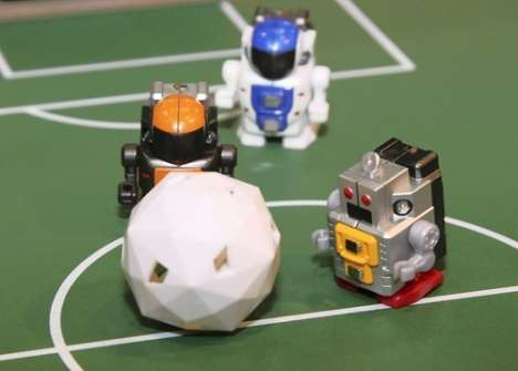 Soccer-Playing Mini Robots - The AI-Equipped Robo-Q