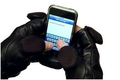 Mobile Device Gloves