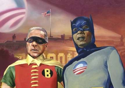 Batmobama and Robiden