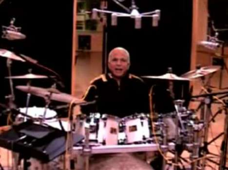 Candidates as Musicians - John McCain Plays the Drums