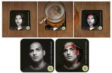 Bleeding Drink Coasters