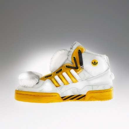 Deconstructed Sneaker Art