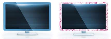 Interchangeable TV Frames - Philips 'Flavors' Matches Home Decor