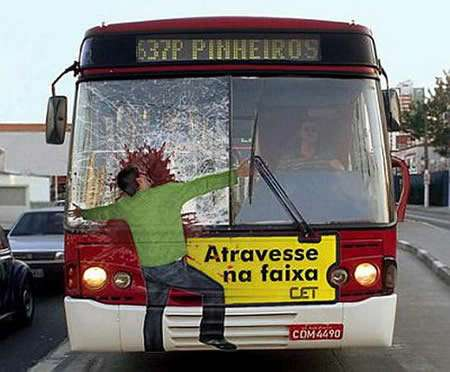Clever Busvertising - 10 Creative Bus Billboards