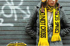 Crime Scene Accessories - The Fuzz Scarf